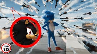 Top 10 Easter Eggs You Missed In Sonic The Hedgehog (2019) Trailer