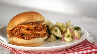 Pulled Barbecue-Chicken Sandwiches- Everyday Food with Sarah Carey by Everyday Food