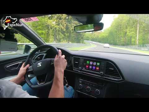 Seat Leon Cupra Under8 Chasing fast German M3 E36 Nurburgring Nordschleife  Touristenfahrten