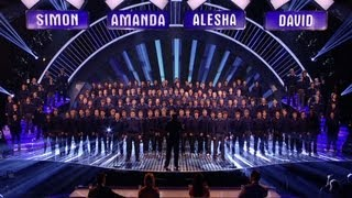 Only Boys Aloud - Britain's Got Talent 2012 Live Semi Final - UK version