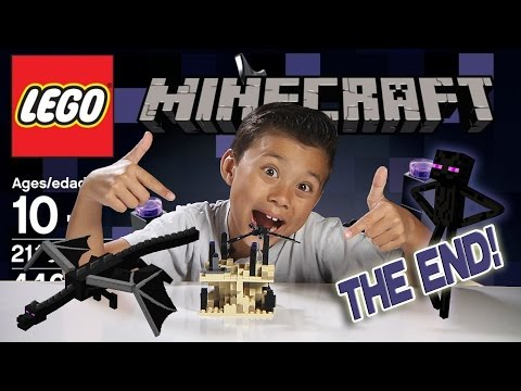 THE END - LEGO Minecraft Set 21107 - Unboxing, Review, Time-Lapse & Stop Motion
