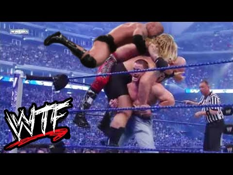 WWE SAVAGE MOMENTS - WWE WTF MOMENTS #2
