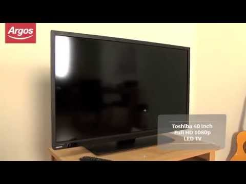 Top reviewed TVs at Argos - Toshiba 40L1333 40 Inch Full HD 1080p LED TV