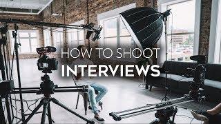 Video How to Shoot an Interview | Job Shadow MP3, 3GP, MP4, WEBM, AVI, FLV Mei 2019