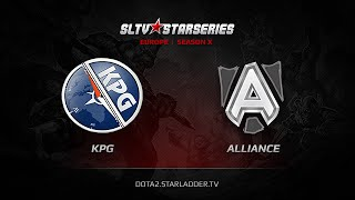 Alliance vs KPG, game 1