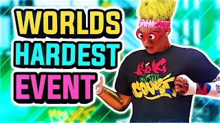 I WON KING OF THE COURT - WORLDS HARDEST PARK EVENT IN NBA 2K19