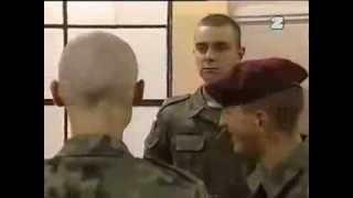 Ciężkie jest życie żołnierza, który nie umie się zameldować!