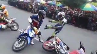 Video ~ NGERI..!! ROADRACE Berantem ~ LUCU kurang sportifitas [ Roadrace Indonesia ] MP3, 3GP, MP4, WEBM, AVI, FLV November 2017