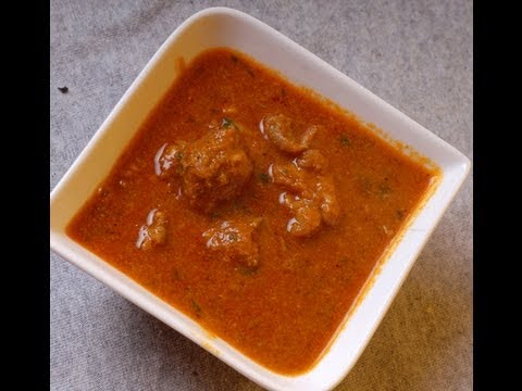 kolhapuri - Kolhapuri Tamda Rassa mutton preparation in red sauce Tamda Rassa is a famous dish from Kolhapur, Kolhapur is actually a city from Maharashtra state of India...