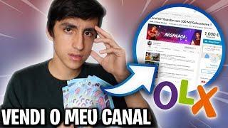 VENDI O MEU CANAL NO OLX!! (PRANK)