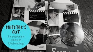 [K-Pop Album Unboxing #4] Seventeen - Director's Cut Special Album (both versions)