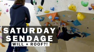 Saturday Sendage: William Tries Roof?! - His 5th Session by Verticalife