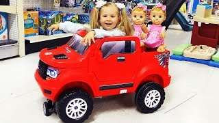 Video Roma and  Diana go to the toy store MP3, 3GP, MP4, WEBM, AVI, FLV Maret 2019