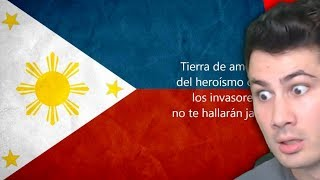 Video Hearing Philippines National Anthem For First Time   American Reaction MP3, 3GP, MP4, WEBM, AVI, FLV Mei 2019