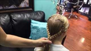 How To Do a Heart Shaped Braid - Tutorial