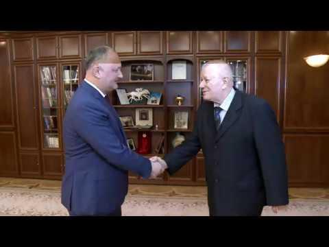 Igor Dodon a avut o întrevedere cu Victor Pușcaș