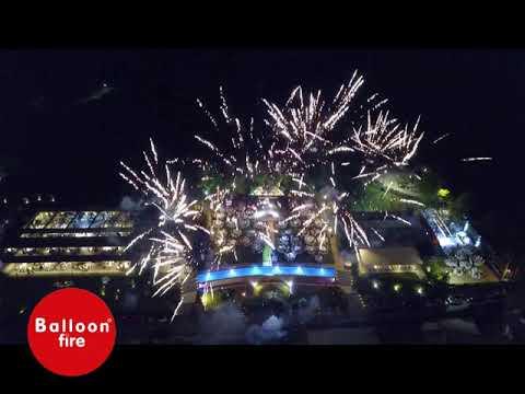 Επακρον Ιούλιος 2018 Πυροτεχνήματα βεντάλιες και ρουκετάκια