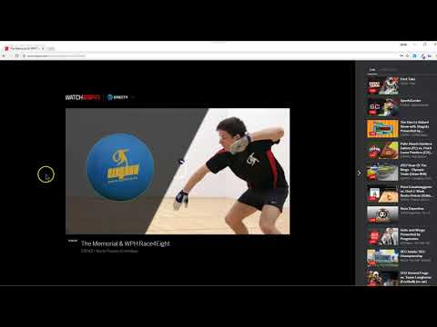 WatchESPN App on a PC or Laptop using Windows-10