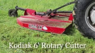 5. Kodiak 6' Rotary Cutter