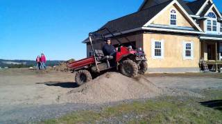 8. Kawasaki mule lifted