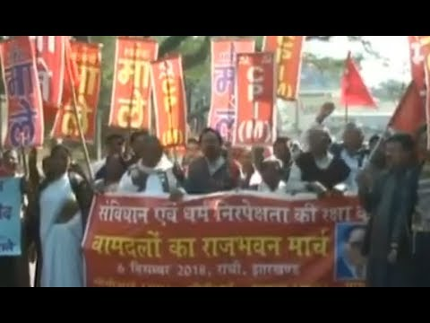 Babri Masjid demolition anniversary: Left parties hold nationwide protests against Centre