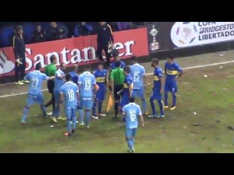Boca Bolivar Lib16 / La 12 vino re loca - La 12 - Boca Juniors