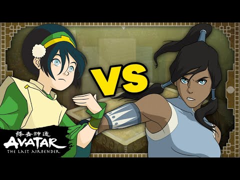 TOPH vs. KORRA: Who Would Win? 👊 Avatar Bender Battles #2 | Avatar