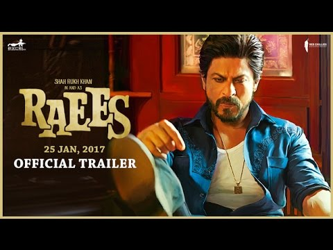 Shah Rukh Khan In & As Raees | Trailer | Releasing 25 Jan (видео)
