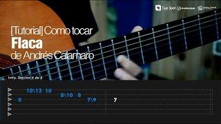 Como tocar Flaca de Andrés Calamaro en Guitarra [Tutorial Feeling Chords]