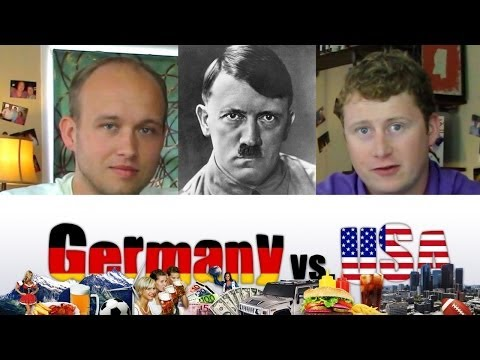 Germany - Yeah, about that guy! Please comment about your take on satire involving Hitler in popular culture! - - - - - - - - - - - SUBSCRIBE to Germany vs USA on YouT...