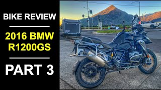 9. 2016 BMW R 1200 GS Review Part 3 - The Road Test