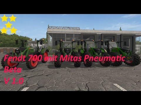 Fendt 700 with Mitas Pneumatic Beta v1.0
