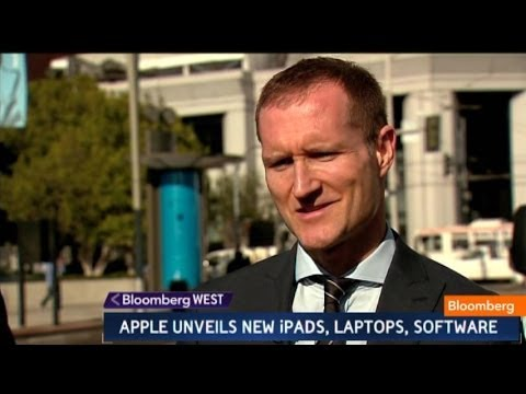 Gene Munster - Oct. 22 (Bloomberg) -- Evernote CEO Phil Libin and Piper Jaffray's Eugene Munster comment on Apple's new products unveiled today. They speak with Jon Erlichm...