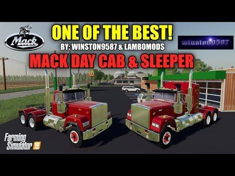 Mack Daycab and Mack Sleeper Truck v1.0.0.5