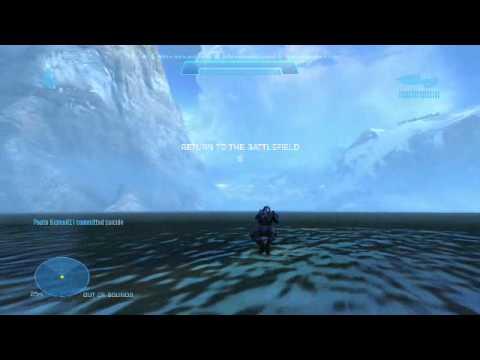 Halo: Reach Walking on Water