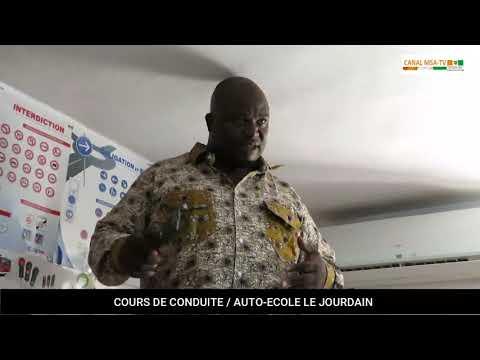COTE D'IVOIRE: Abidjan : le Gouvernement définit un plan de circulation des tricycles et des conditions de circulation des motos - CANAL MSA-TV FRANCE en partenariat avec l' AUTO-ECOLE LE JOURDAIN innove le service auto-école emploie
