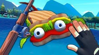 HAUNTED SANDWICH FISH - Crazy Fishing (VR)