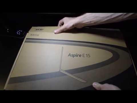 Acer Aspire E15 - E5-572G notebook pc unboxing!