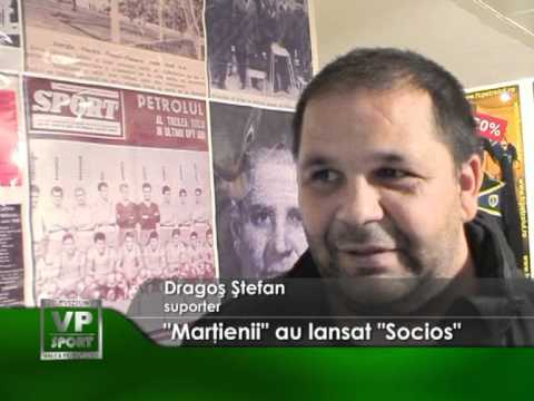 """""""Marţienii"""" au lansat """"Socios"""""""