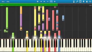 Air Supply - All Out Of Love - Piano Tutorial - Synthesia - How To Play