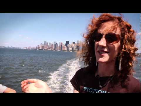 NYT Bestselling author Gayle Forman gives a tour of NYC spots featured in WHERE SHE WENT