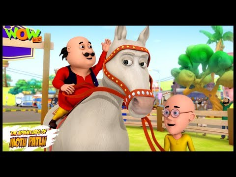 Video Circus Ka Ghoda - Motu Patlu in Hindi - 3D Animation Cartoon for Kids - As seen on Nickelodeon download in MP3, 3GP, MP4, WEBM, AVI, FLV January 2017