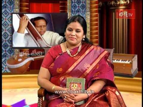 Devotional Singer Nitya Santoshini Special Swararchana_Part 2