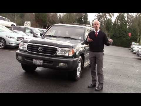 2000 Toyota Land Cruiser review – In 3 minutes you'll be an expert on the 2000 Land Cruiser
