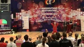 Serena Nicosia & Andreas Meier - Norddeutsche Meisterschaft 2014