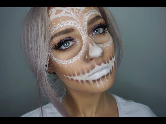 Sugar-skull-halloween-makeup
