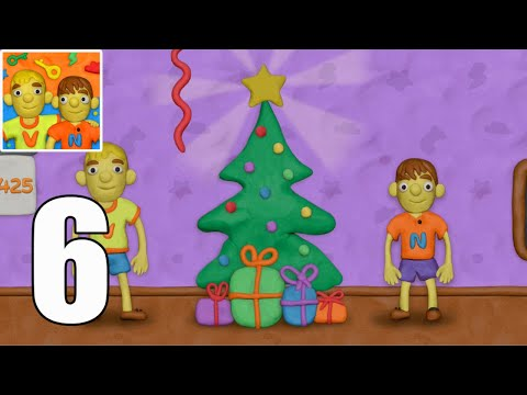 Vlad and Niki 12 Locks Level 6 Christmas Walkthrough (iOS - Android))
