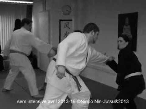 Semaine intensive avril 2013-©Ninpo Nin-Jutsu®2013