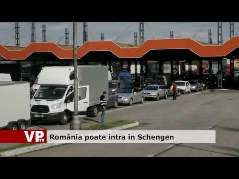 România poate intra în Schengen