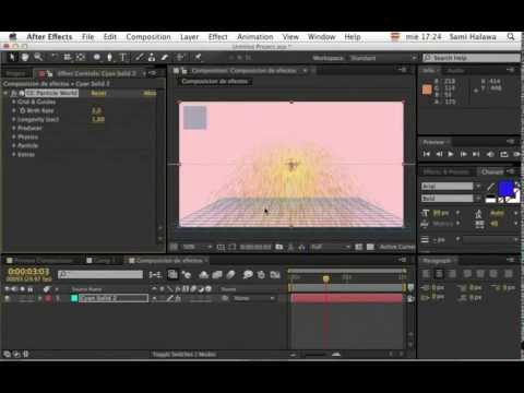 After Effects - Clase 2/24: https://www.youtube.com/watch?v=NcDon7K2lQI PARA MÁS INFORMACIÓN Y CURSO COMPLETO IR A http://megacursoae.com/ Descripción de Megacurso After Eff...